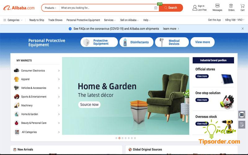 Các mặt hàng của Alibaba bày bán chất lượng thế nào?