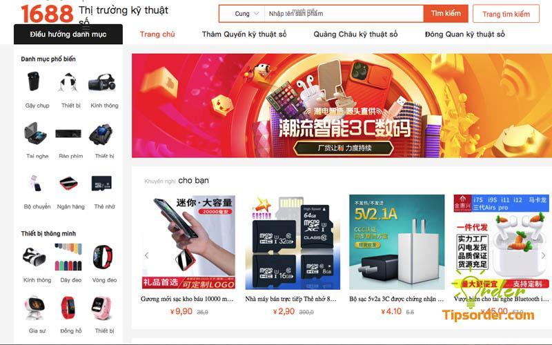 Dịch trang web sang tiếng Việt để dễ dàng tìm hàng