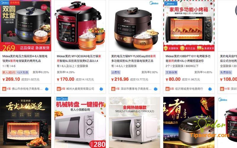 Làm sao để đặt hàng điện dân dụng về Việt Nam
