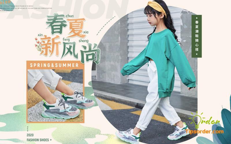 Nguồn hàng giày dép trẻ em trên taobao