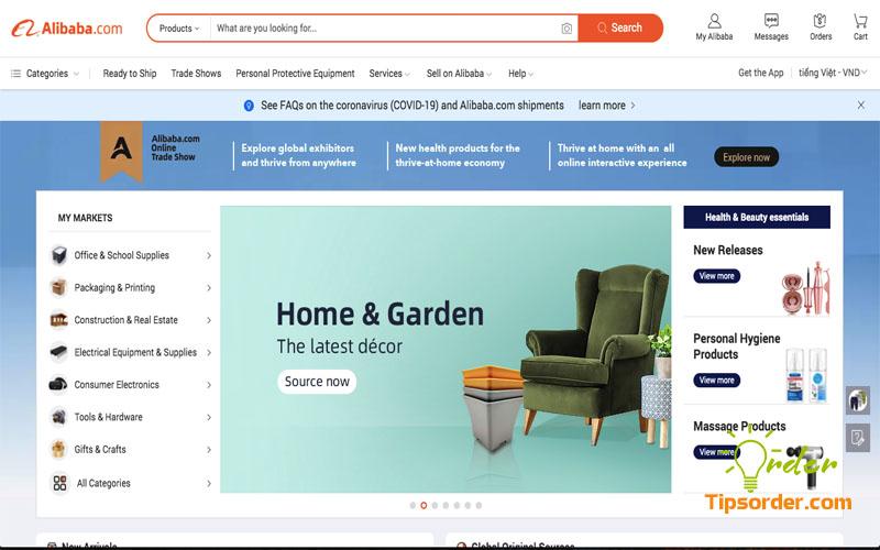 Khi nào thì nên đặt hàng trên Alibaba?