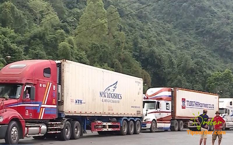 Tắc biên sẽ làm ảnh hưởng lớn đến thời gian vận chuyển hàng về Việt Nam