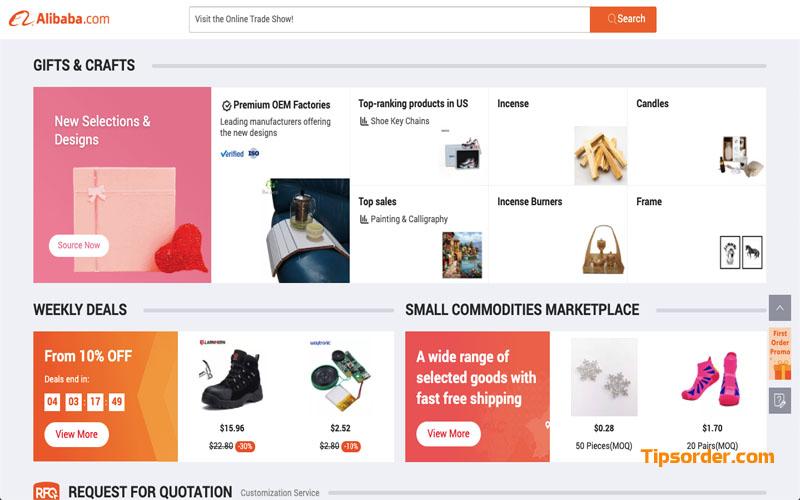 Các shop trên Alibaba đều được kiểm soát chặt chẽ trước khi bán hàng