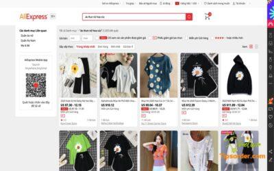 Kinh nghiệm lựa chọn shop chất lượng khi mua hàng trên Aliexpress