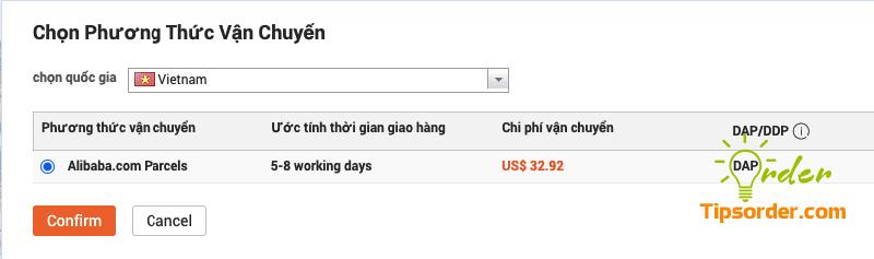 Khá ít lựa chọn dịch vụ vận chuyển hàng hóa từ Alibaba về Việt Nam