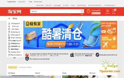 Việc dịch Taobao sang tiếng Việt sẽ giúp quá trình mua hàng thuận lợi hơn