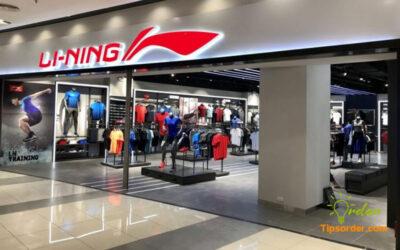 Các cửa hàng phân phối sản phẩm của hãng Li-Ning