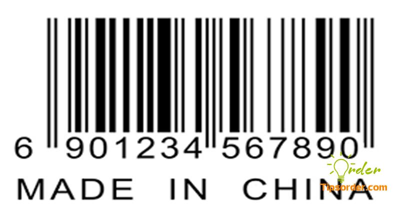 Mã vạch đầu 69x là hàng hóa xuất xứ từ Trung Quốc
