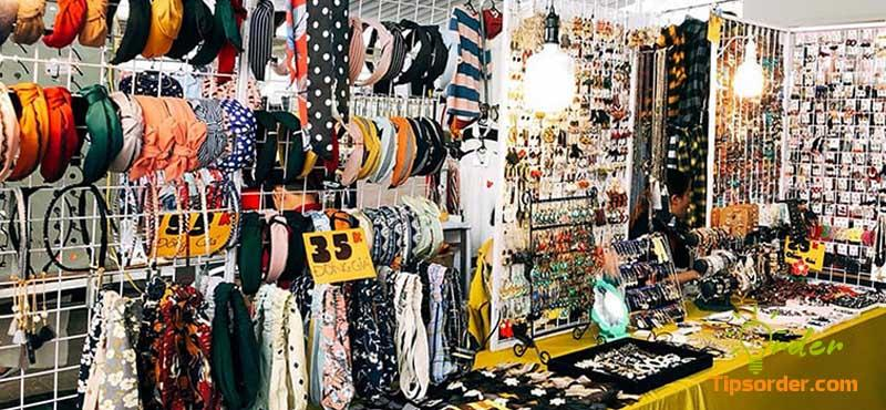 Nguồn hàng phụ kiện thời trang tại chợ đầu mối