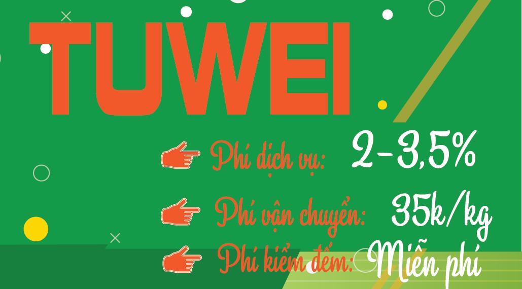 TUWEI hiện đang là đơn vị cung cấp dịch vụ order hàng Trung Quốc uy tín nhất