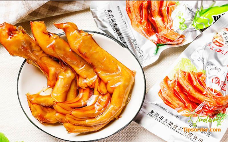 Các thương hiệu chân vịt cay Trung Quốc nội địa nổi tiếng