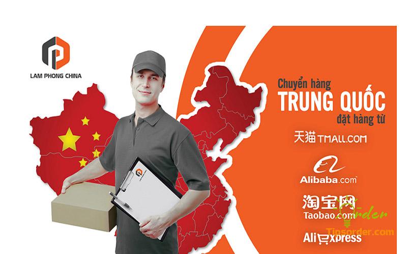 Lamphongchina vận chuyển hàng hóa qua đường hàng không, đường biển, đường sắt tương đối đa dạng