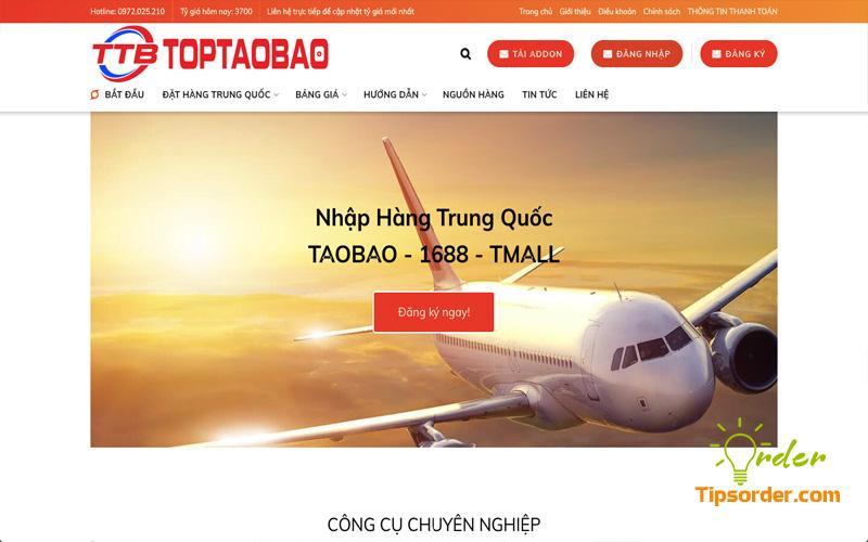 Công ty vận chuyển hàng từ Trung Quốc về Việt Nam uy tín TOPTAOBAO