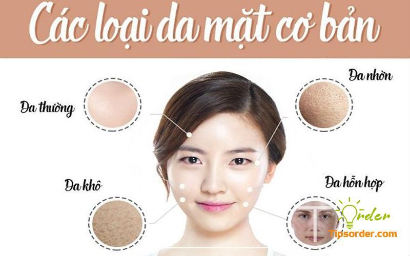 Các loại da mặt cơ bản của người Việt Nam cũng tương đối giống người Trung Quốc