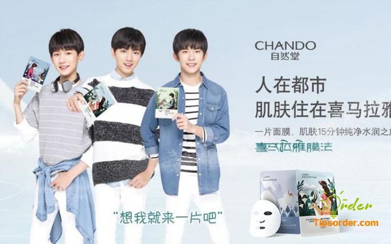 Thương hiệu mặt nạ Chando nội địa Trung Quốc