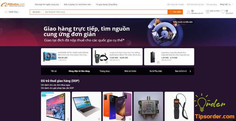 Nhập hàng Alibaba về Việt Nam