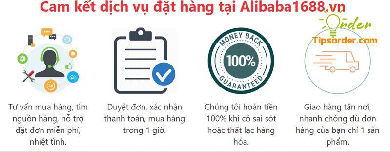 Alibaba1688 công khai những ưu thế khi order tại công ty cho khách hàng