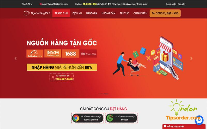 Bạn sẽ được tư vấn miễn phí về những nguồn hàng order Taobao chất lượng nhất