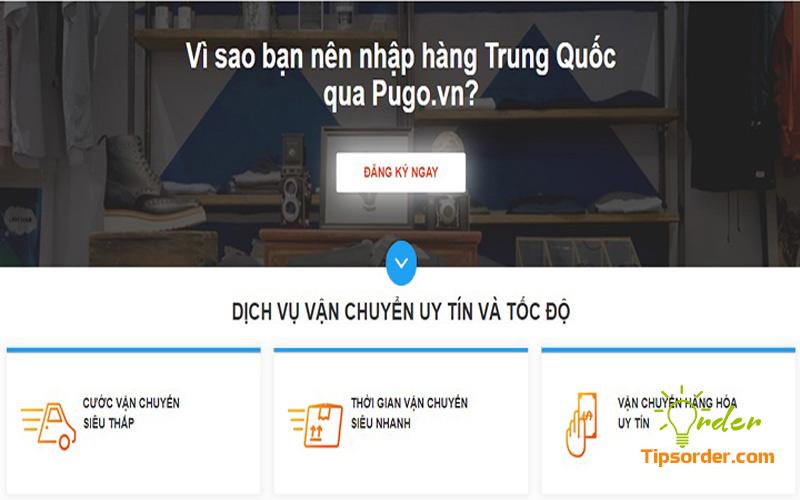 Pugo.vn cam kết minh bạch chi phí dịch vụ mua hộ hàng Taobao