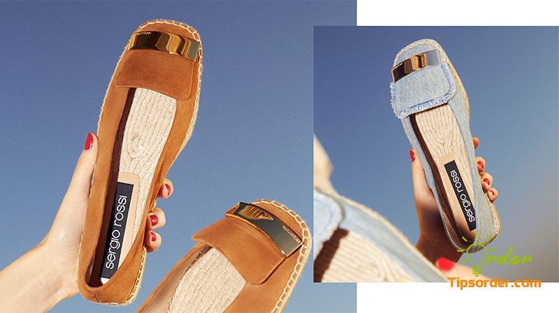 Chill và thôn quê như Taylor Swift vậy. Đó là hãng giày nổi tiếng thế giới Sergio Rossi.