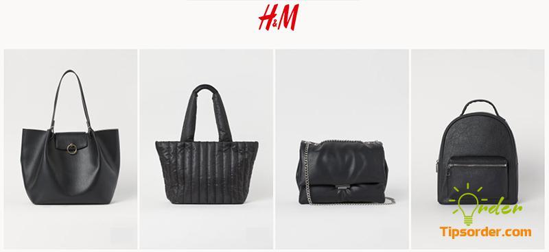 Thương hiệu túi xách bình dân H&M