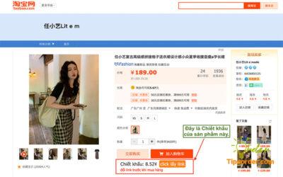 Đây là giá chiết khấu của sản phẩm Váy mà mình xem.