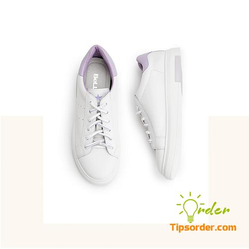 Đôi giày sneaker của Belle, nhẹ nhàng và tinh tế.
