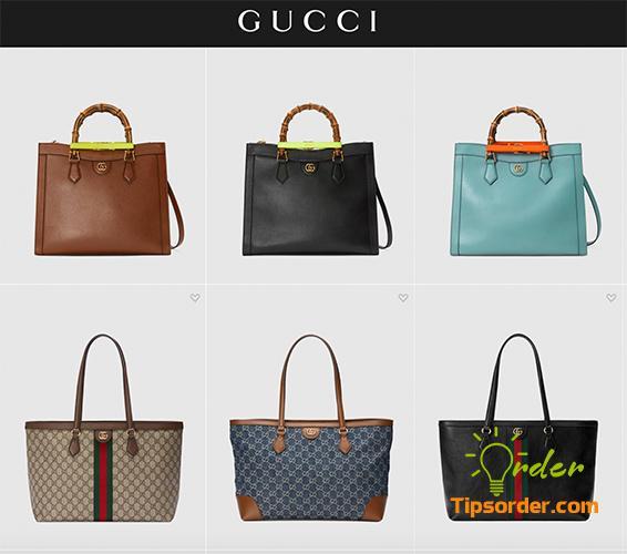 Thương hiệu túi xách nổi tiếng Gucci