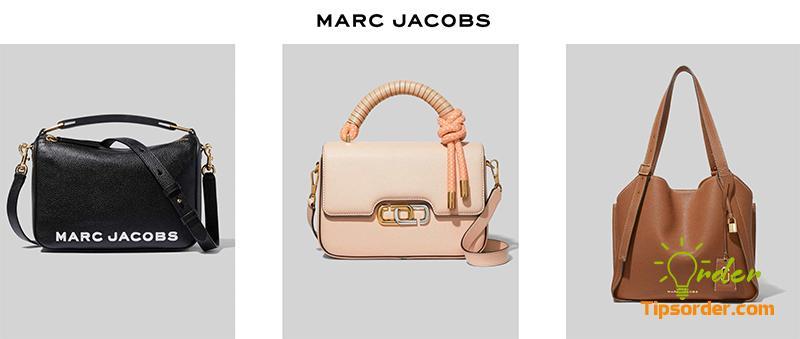 Thương hiệu túi xách nổi tiếng Marc Jacobs