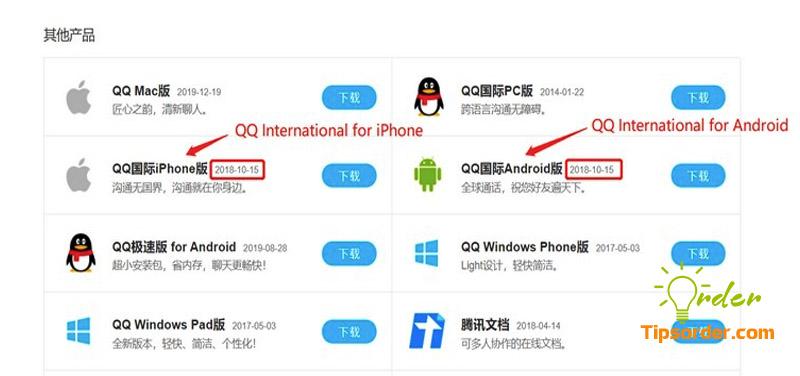 So sánh QQ và QQ International