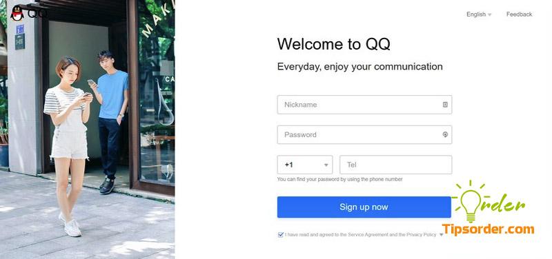 Đăng ký tài khoản QQ bằng số điện thoại của bạn