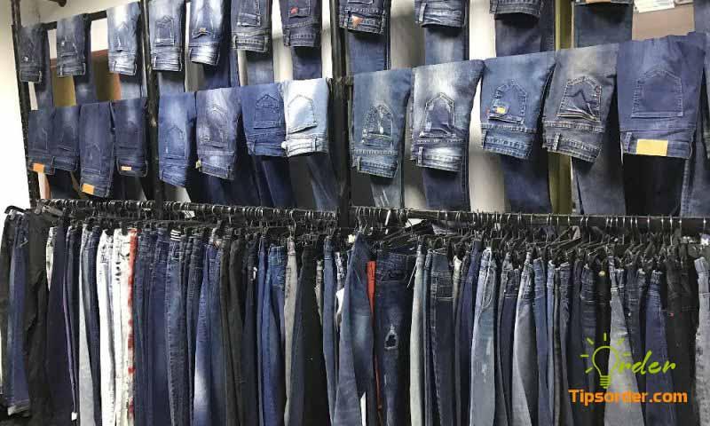 Hình ảnh của một shop chuyên quần Jeans.