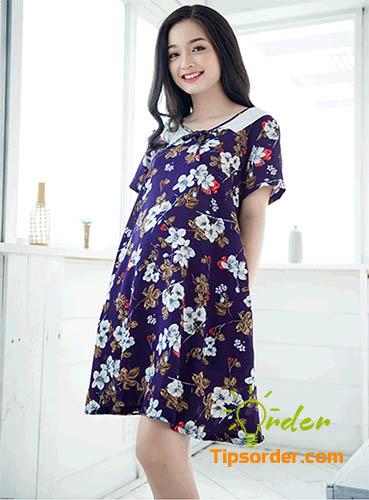 Đầm suông có kiểu dáng đơn giản và thoải mái cho chị em.