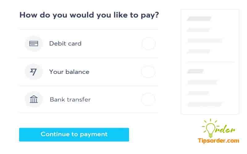 Sau khi thanh toán xong, bạn cần thông báo cho nhà cung cấp để họ nhận tiền kịp thời,