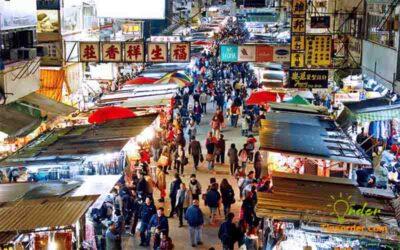 Chợ đầu mối bán hàng nội địa tại Trung Quốc.